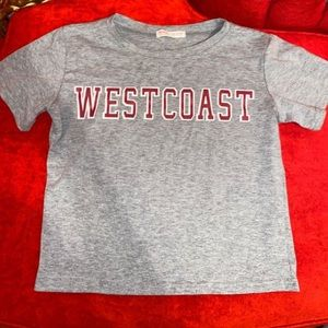 SHEIN westcoast crop top